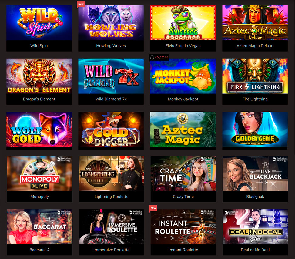The latest no deposit casino bonuses